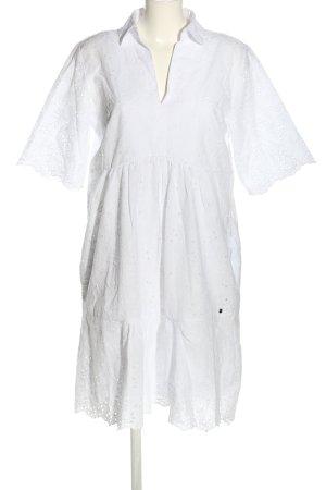 Betty & Co Abito blusa bianco stile casual