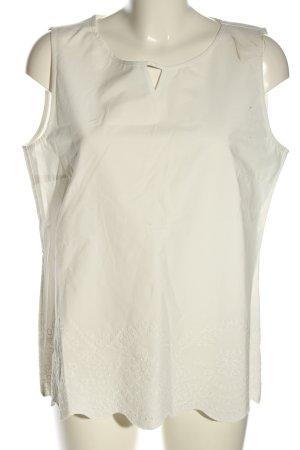 Betty & Co Blusa bianco sporco caratteri ricamati stile casual