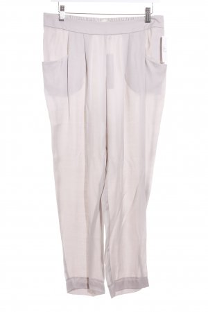 Betty & Co Bundfaltenhose hellgrau Casual-Look