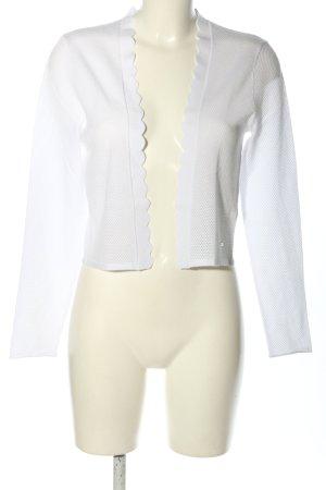 Betty & Co Cardigan bianco elegante