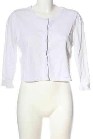 Betty & Co Cardigan bianco stile casual