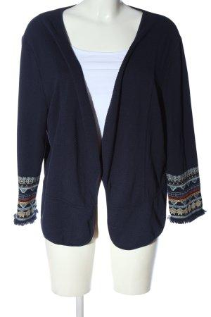 Betty & Co Cardigan blu stile casual
