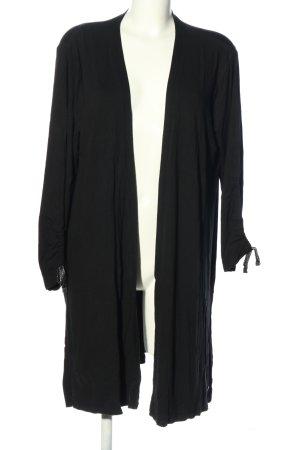 Betty & Co Kardigan czarny W stylu casual