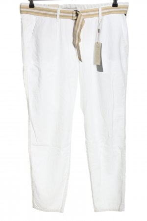 Betty & Co Chinohose weiß Casual-Look