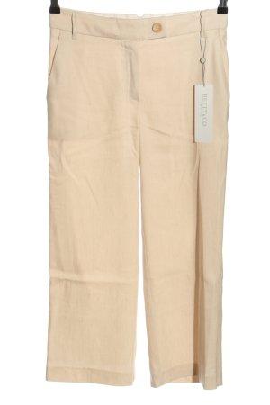 Betty & Co Pantalone culotte crema stile casual
