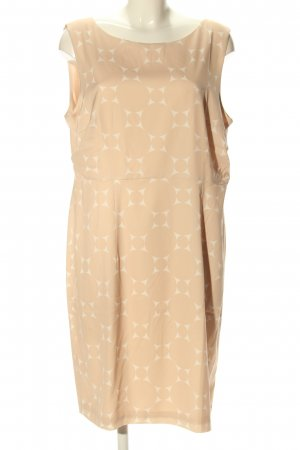 Betty & Co Etuikleid wollweiß-creme abstraktes Muster Casual-Look