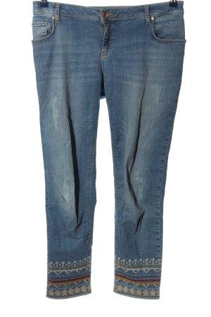 Betty & Co Spodnie z pięcioma kieszeniami niebieski W stylu casual