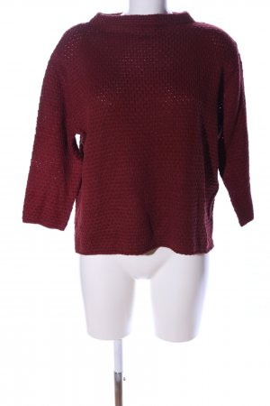 Betty & Co Grobstrickpullover rot Casual-Look