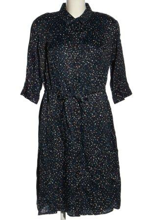 Betty & Co Hemdblusenkleid mehrfarbig schlichter Stil