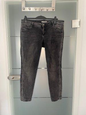 Betty & Co. Jeans Gr.46 grau Slim Fit