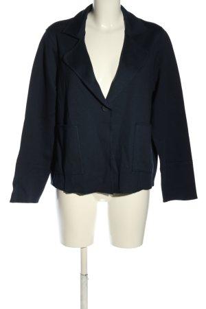 Betty & Co Jersey Blazer blue casual look