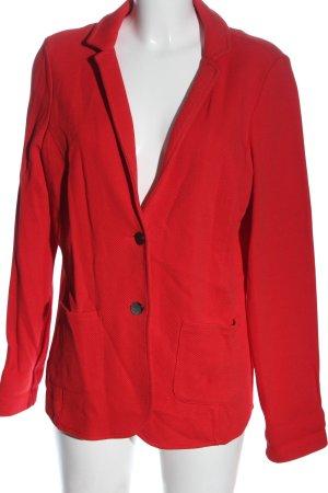 Betty & Co Kurz-Blazer rot Streifenmuster Casual-Look