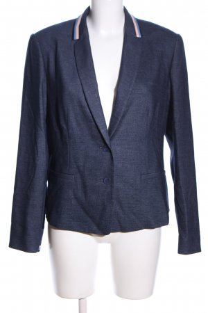 Betty & Co Kurz-Blazer blau meliert Business-Look