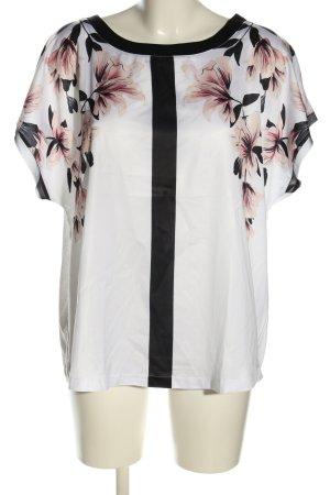 Betty & Co Bluzka z krótkim rękawem Wzór w kwiaty W stylu casual