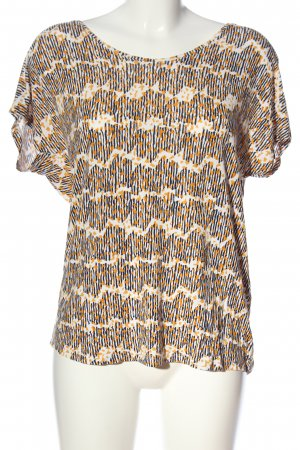 Betty & Co Short Sleeved Blouse abstract pattern casual look