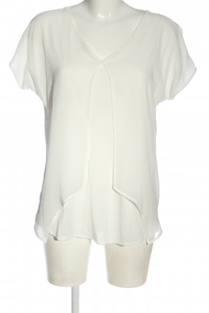 Betty & Co Short Sleeved Blouse natural white casual look