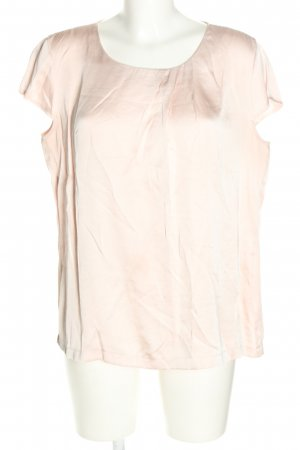 Betty & Co Kurzarm-Bluse creme Casual-Look