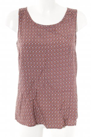 Betty & Co Kurzarm-Bluse abstraktes Muster Casual-Look