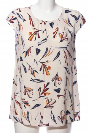 Betty & Co Short Sleeved Blouse allover print casual look