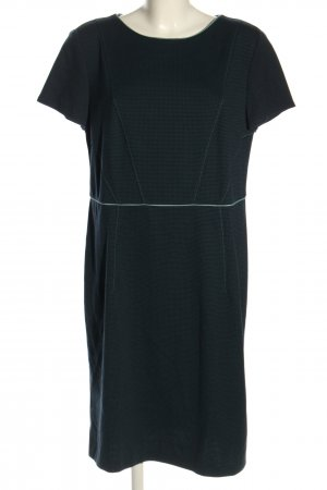 Betty & Co Shortsleeve Dress black-turquoise casual look