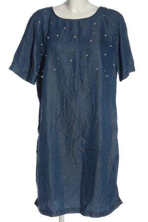Betty & Co Shortsleeve Dress blue casual look