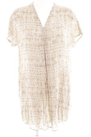 Betty & Co Kurzarmkleid 40 Kleid Longbluse abstraktes Muster