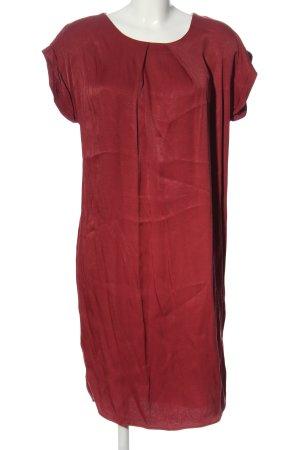 Betty & Co Abito a maniche corte rosso stile casual