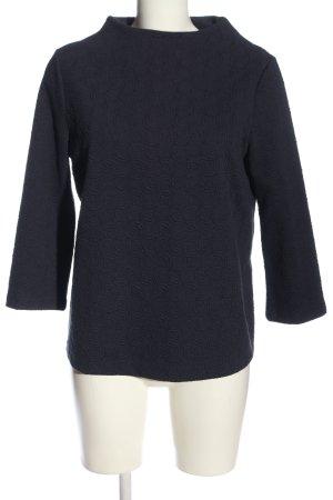 Betty & Co Sweter z okrągłym dekoltem czarny W stylu casual