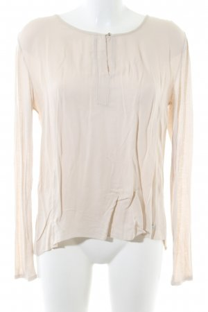Betty & Co Langarm-Bluse wollweiß Casual-Look