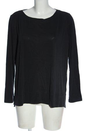 Betty & Co Langarm-Bluse schwarz Casual-Look