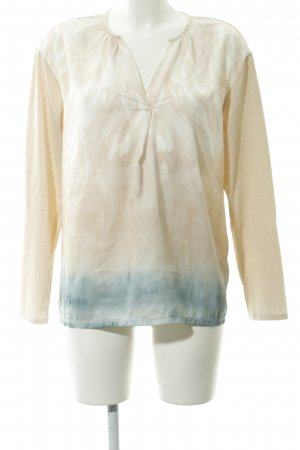 Betty & Co Langarm-Bluse abstraktes Muster Casual-Look