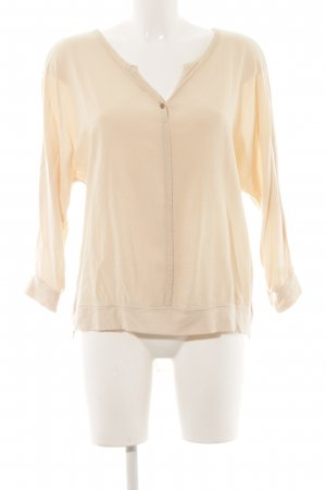 Betty & Co Langarm-Bluse creme Casual-Look