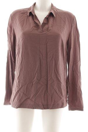 Betty & Co Langarm-Bluse bronzefarben Casual-Look
