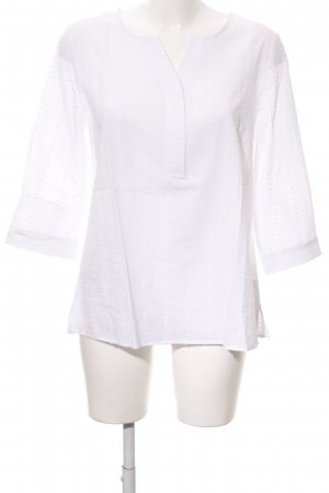 Betty & Co Langarm-Bluse weiß Casual-Look