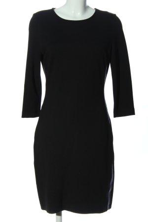 Betty & Co Langarmkleid schwarz Elegant