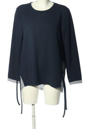 Betty & Co Koszulka z długim rękawem niebieski W stylu biznesowym
