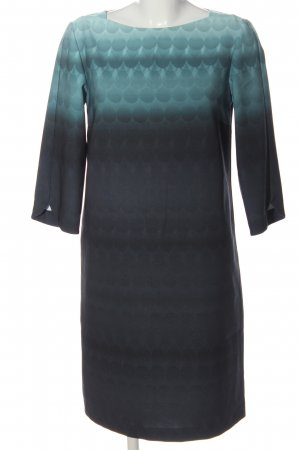 Betty & Co Midi Dress turquoise-blue color gradient business style