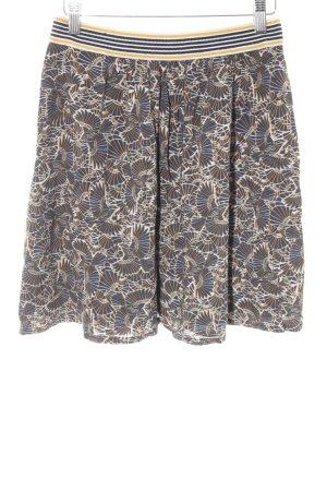 Betty & Co Minifalda amarillo oscuro-azul oscuro look casual