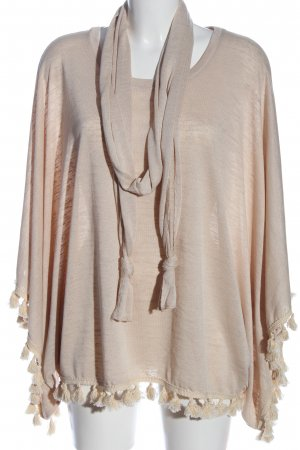 Betty & Co Poncho creme Casual-Look