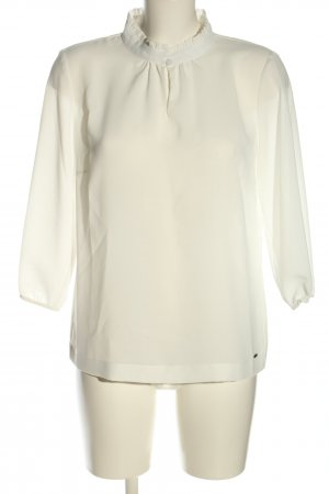 Betty & Co Ruffled Blouse white business style