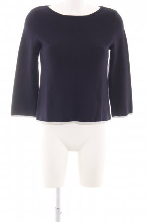 Betty & Co Rundhalspullover blau Casual-Look
