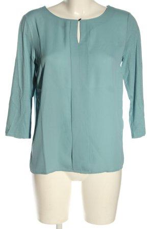 Betty & Co Blouse à enfiler turquoise style décontracté