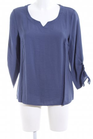 Betty & Co Schlupf-Bluse graublau Casual-Look