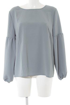 Betty & Co Schlupf-Bluse graugrün schlichter Stil