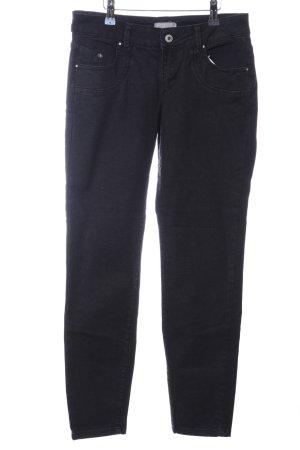 Betty & Co Slim Jeans schwarz Casual-Look
