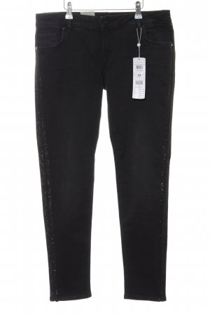 Betty & Co Slim Jeans schwarz Casual-Look