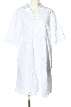 Betty & Co Koronkowa sukienka biały W stylu casual