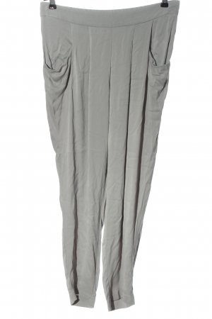 Betty & Co Jersey Pants light grey casual look