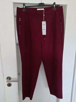 Betty & Co Jersey Pants bordeaux