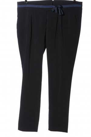 Betty & Co Jersey Pants blue casual look